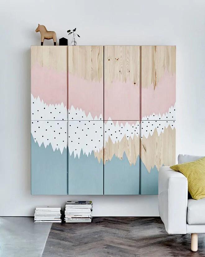 IKEA IVAR Hack 10 ways to prettify the plain pine cabinet  Mums Grapevine