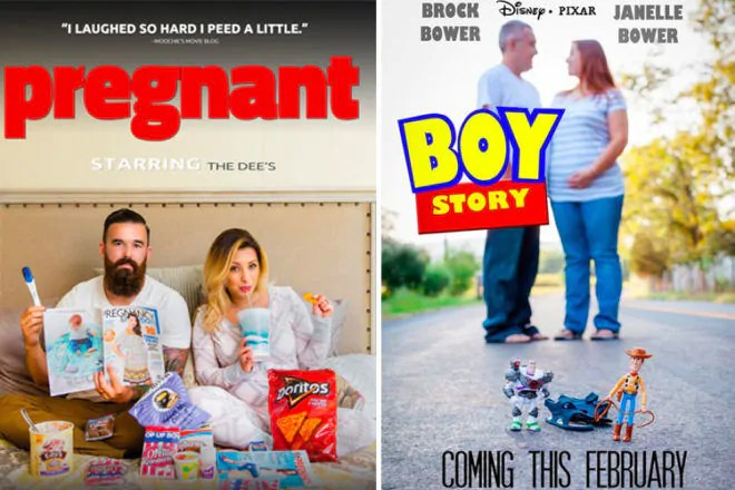 15 clever movie poster