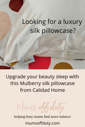 Mums Off Duty, Calidad Home Silk Pillowcase