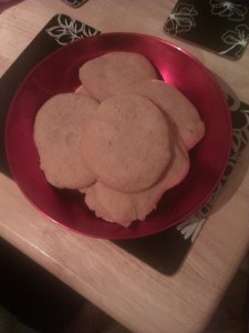 I have caught baking fever - Basic Chewy Cookie Recipe 1