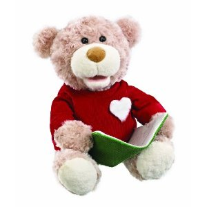 Snuggle Pets Storytime Bear