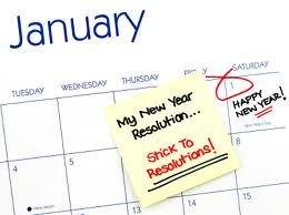 Time to start thinking about News Years Resolutions 2