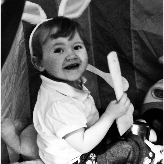 Easter, Happy Easter, Bunny Ears, Rabbit Ears, Baby with Bunny Ears