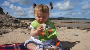 travelling with children, beach, beach picnic, holiday, babies on holiday, toddlers on holiday