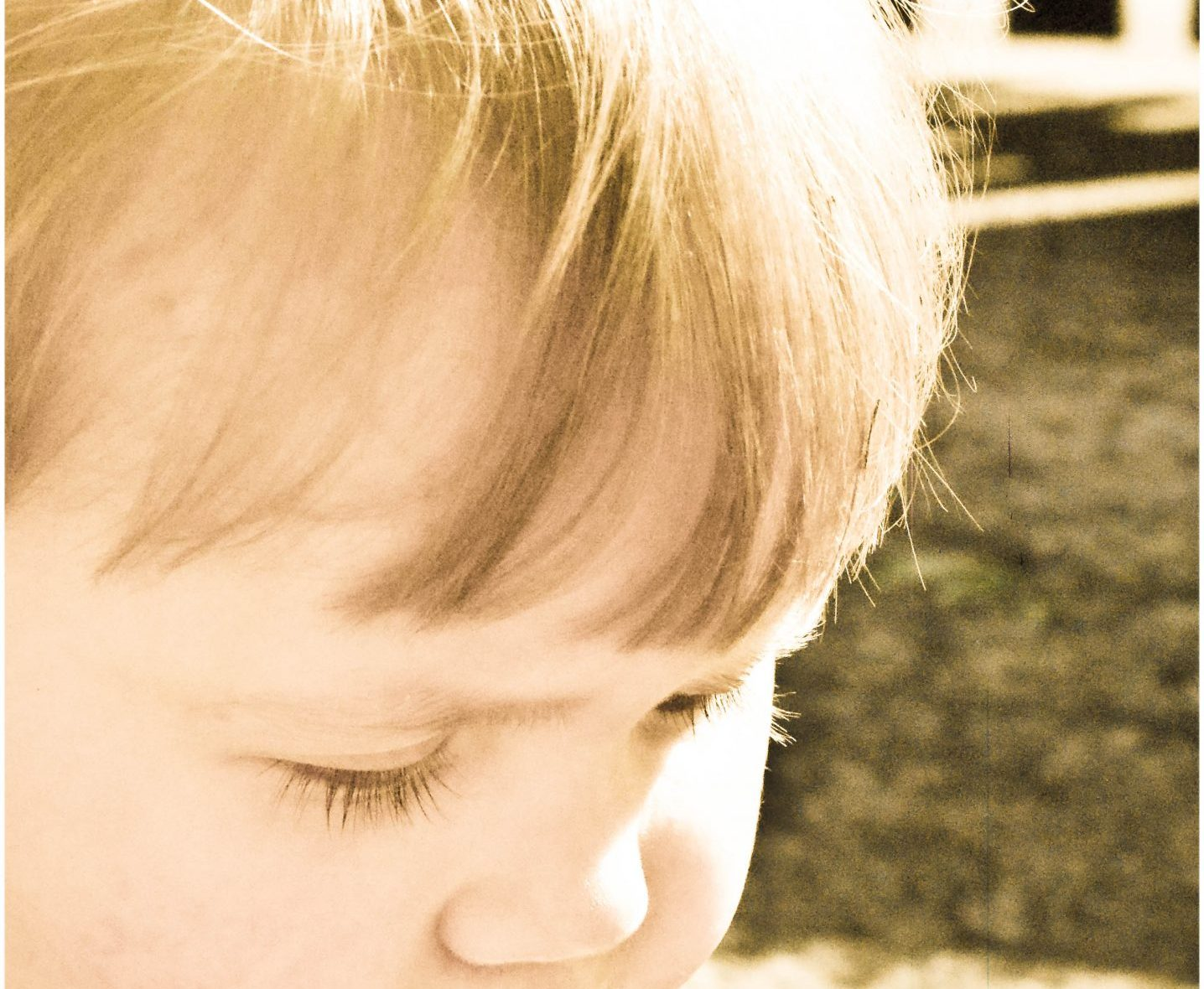 Isabelle, Not Always Right, Toddler, Toddler Close up, Toddler Profile, Toddler with a dirty face