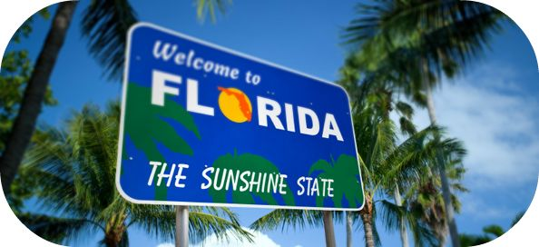 florida, the sunshine state, welcome to florida, florida sign
