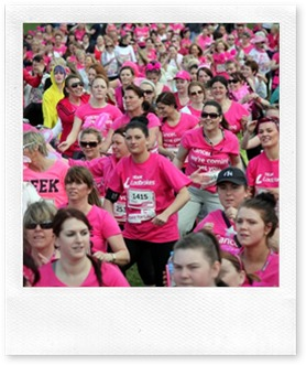 The Race for Life at Saltwell Park Gateshead. Pic Andy Commins 05/05/13