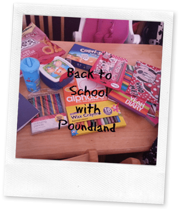 Back to School with Poundland 2