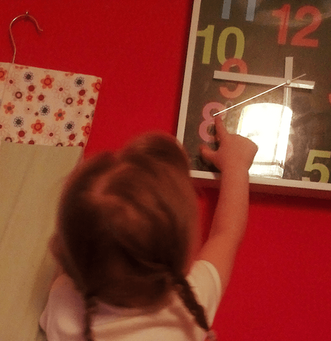 Learning to tell the time 4