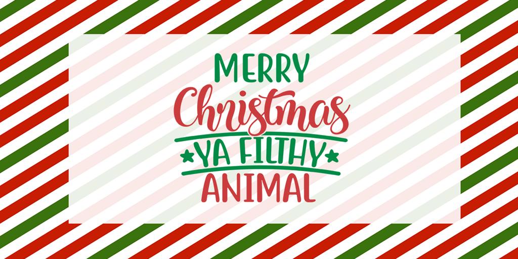 The Jingle All The Way Christmas Tag 2