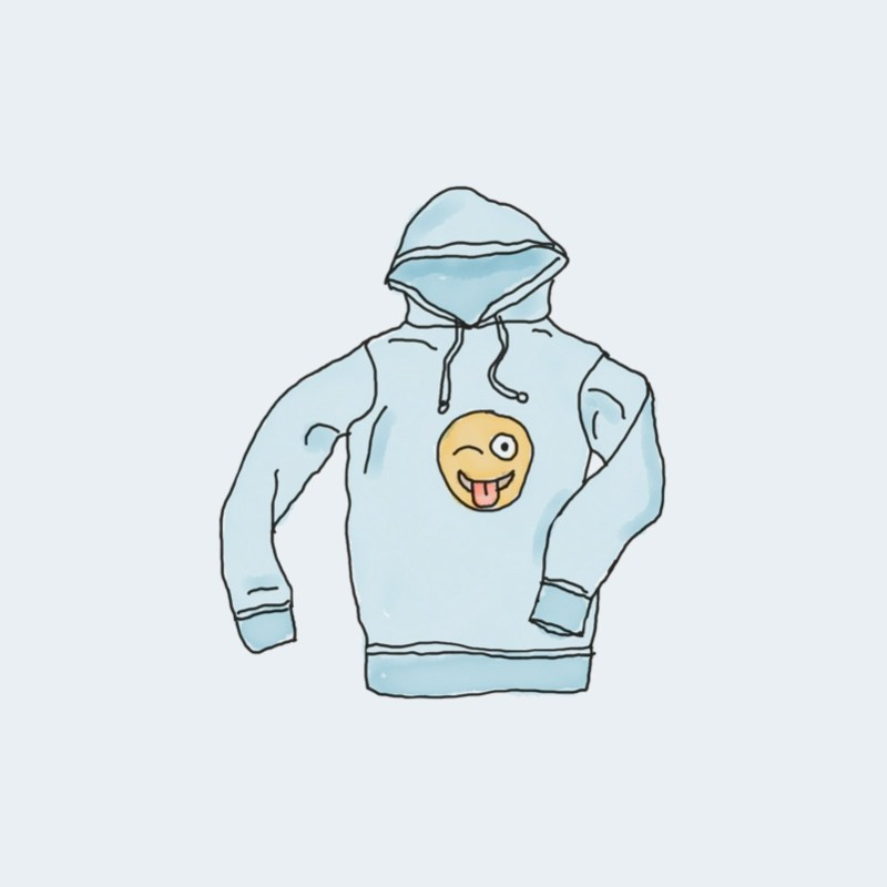 Hoodie with Logo 1