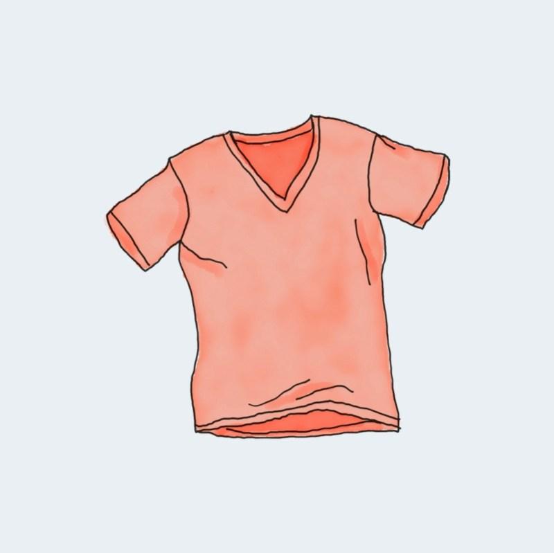 V-Neck T-Shirt 1