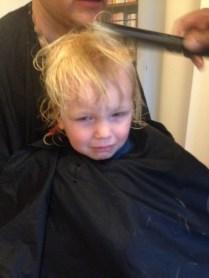 Second haircut, oh dear