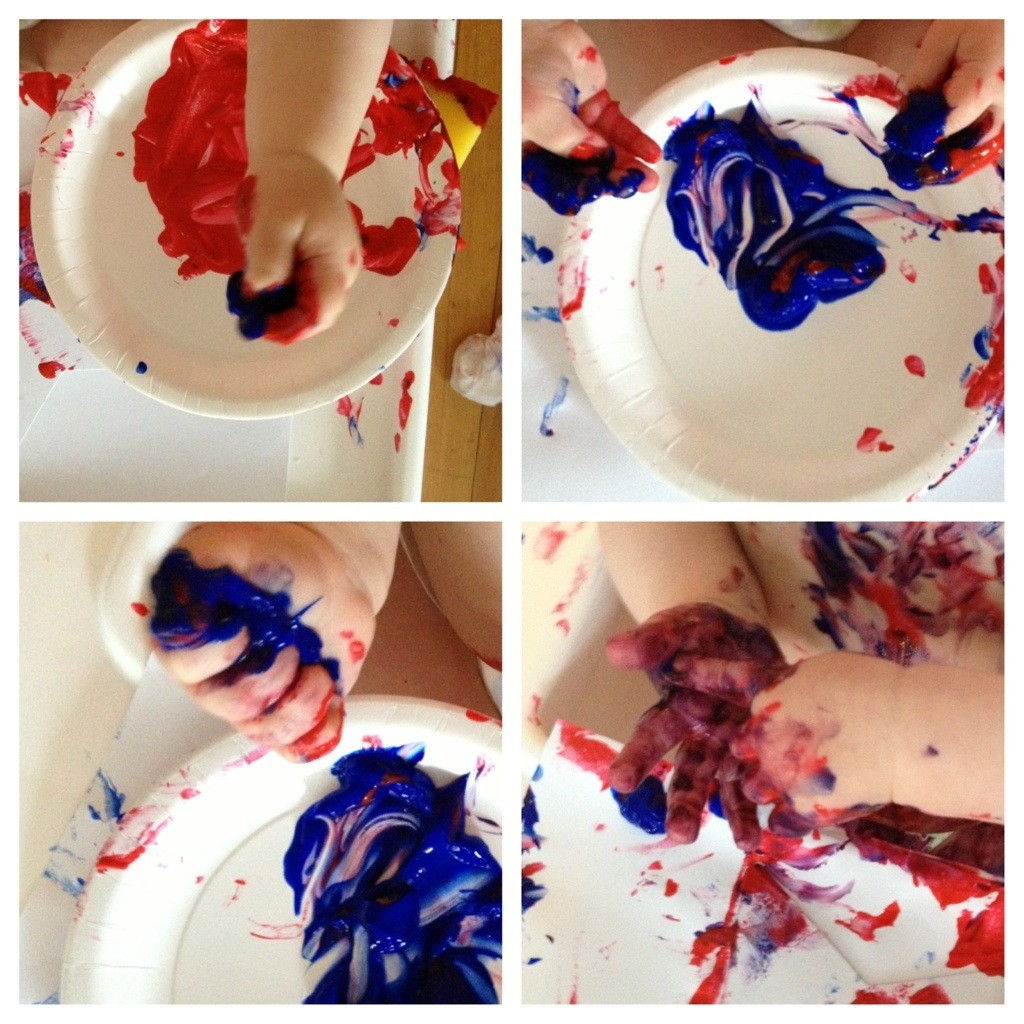 First Finger Painting 3