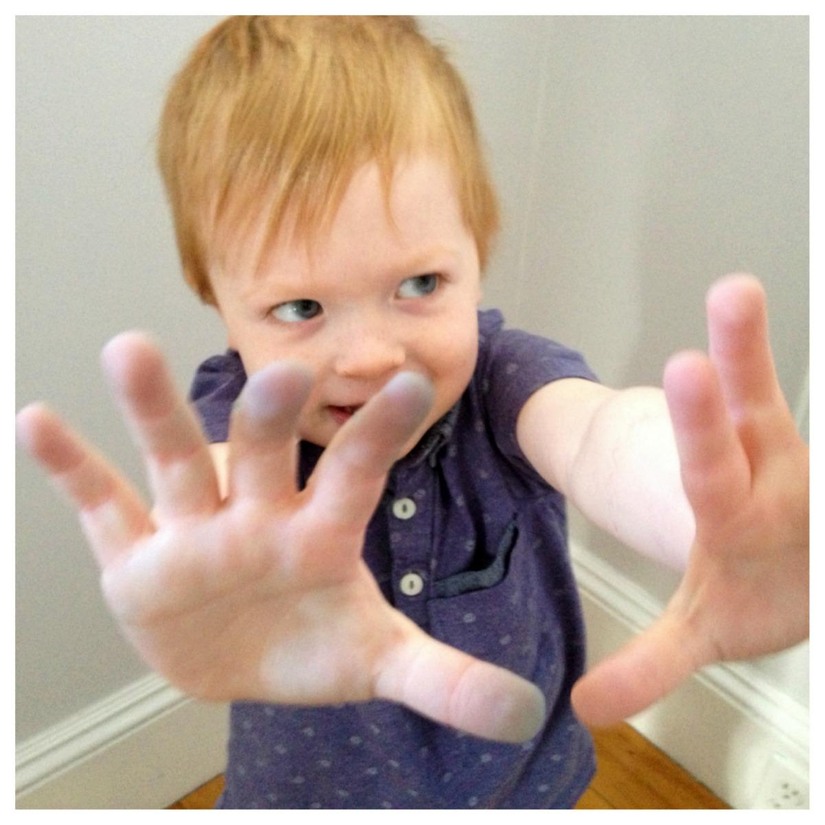 8. Blue Hands