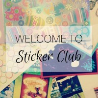 Welcome to Sticker Club...