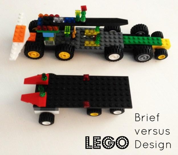 Lego Brief versus Design