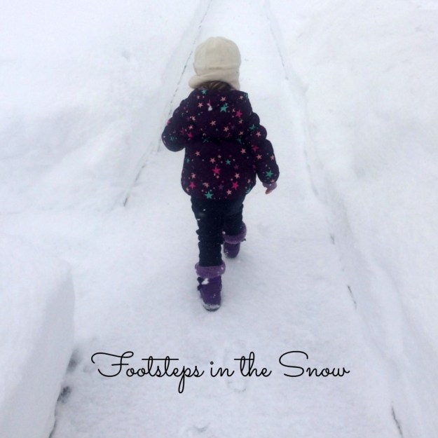 Childhood Footsteps in the Snow