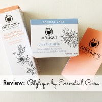 Review and Giveaway: Odylique by Essential Care