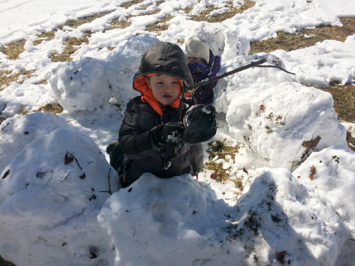 Snow Fort 7