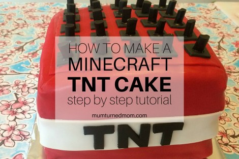 How to Make a MINECRAFT TNT Cake - Featured