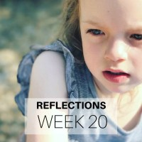 Reflections: Week 20