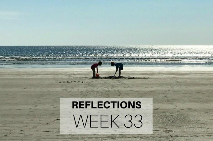 Reflections Week 33
