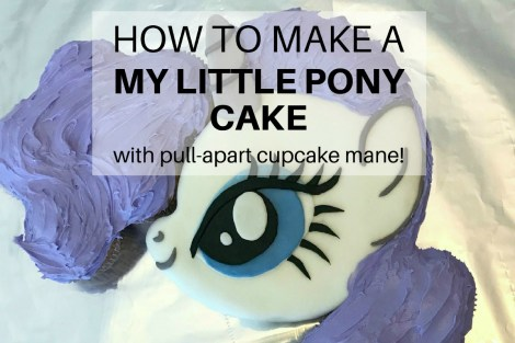 How to make a My Little Pony Cake - Featured Image