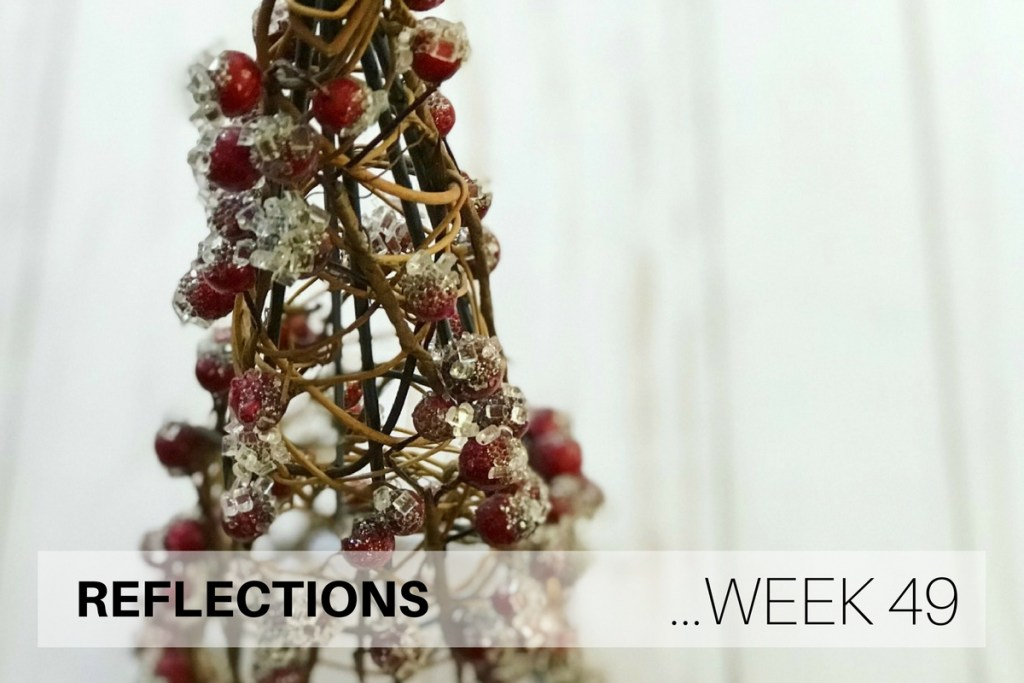 Reflections Week 49