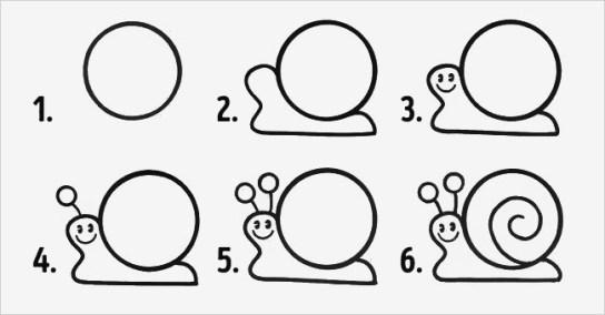 Cara menggambar hewan dengan mudah | cara buat gambar 3d