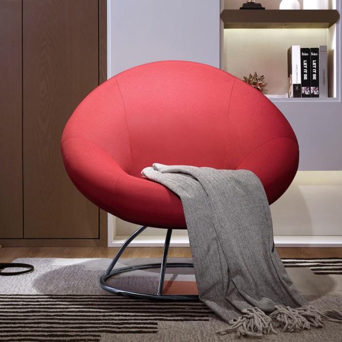 red lounge chair fishing floating sandro mumu living