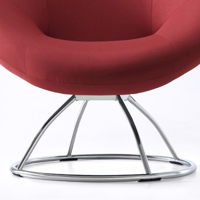 red lounge chair target dining chairs gray sandro mumu living home click image for gallery