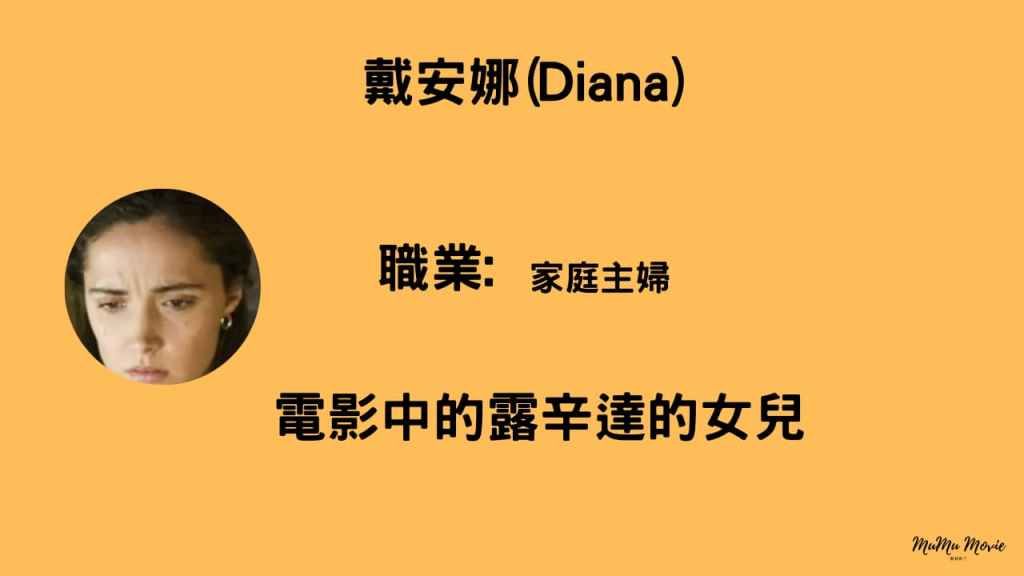 末日預言電影中戴安娜Diana是誰?