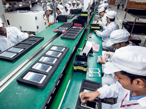 Step by step process on how to Manufacture mobile phones