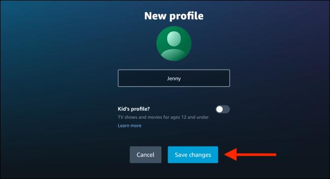 How to Create Amazon Prime Video User Profiles