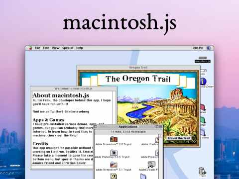 Mac OS 8 Ported as an Electron App That You Can Run on Your PC
