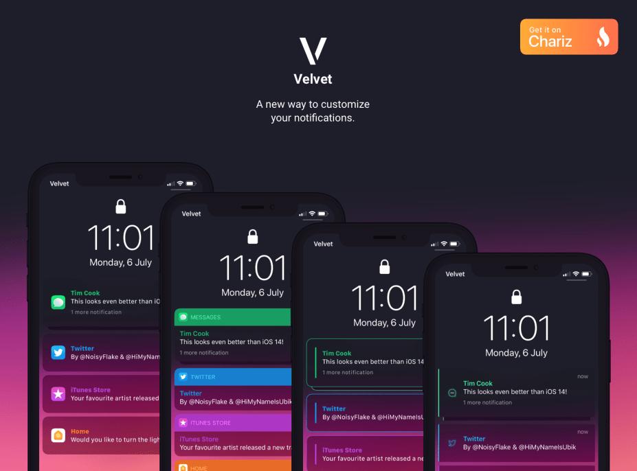 Velvet Jailbreak Tweak Lets You Customize Notifications on Your iPhone