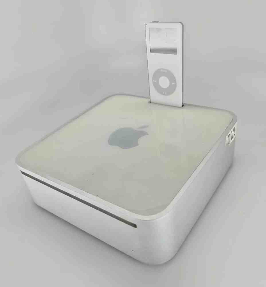 Apple Once Prototyped a Mac Mini With an iPod Dock