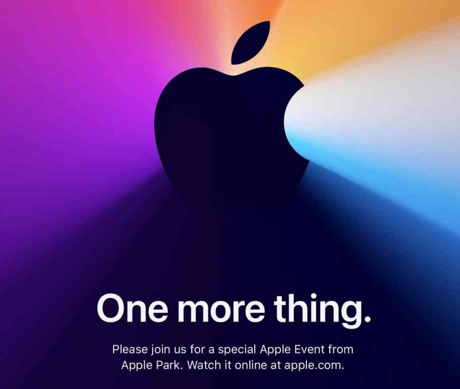 Apple's 'One More Thing' Apple Silicon Mac Event Start Time in Your Time Zone