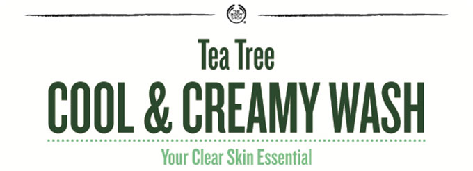 TEA TREE COOL & CREAMY WASH