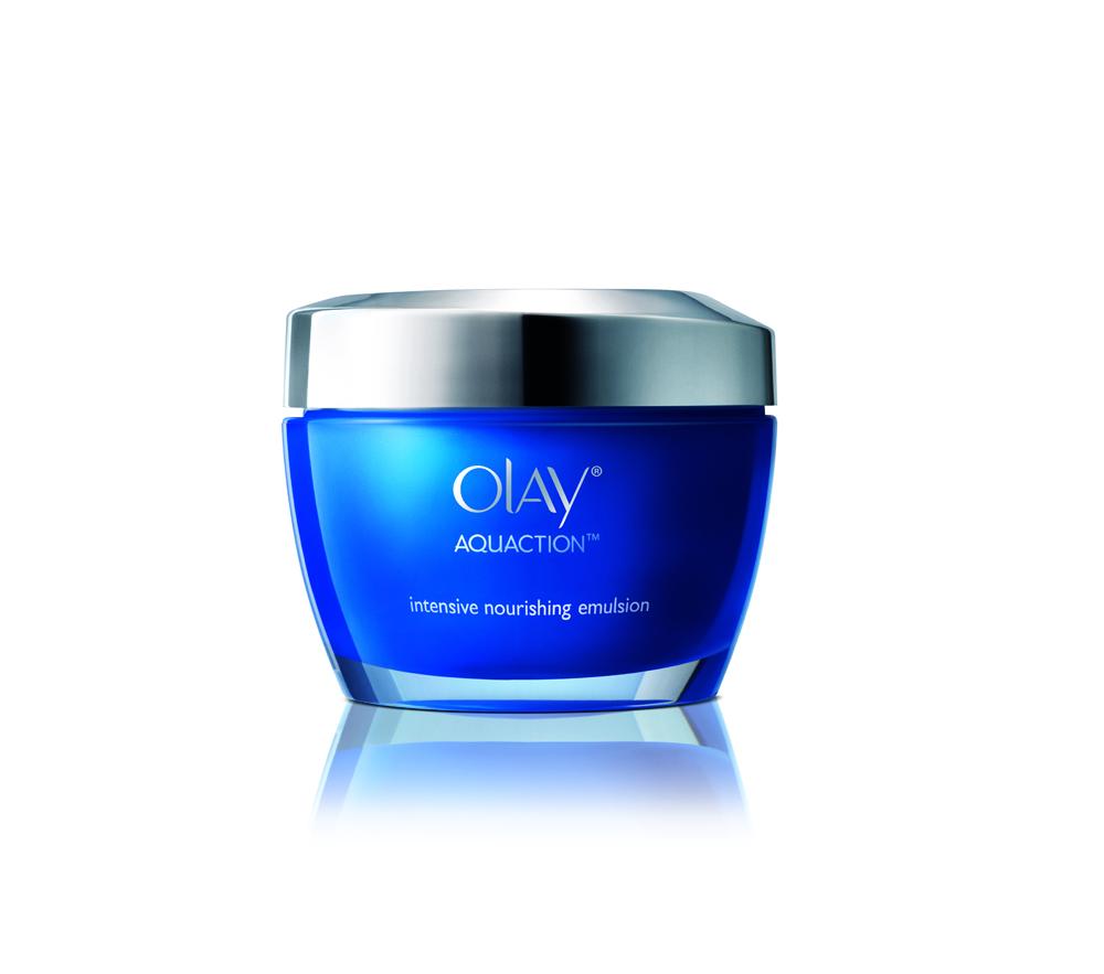 OLAY AquAction Intensive Nourishing Emulsion 01