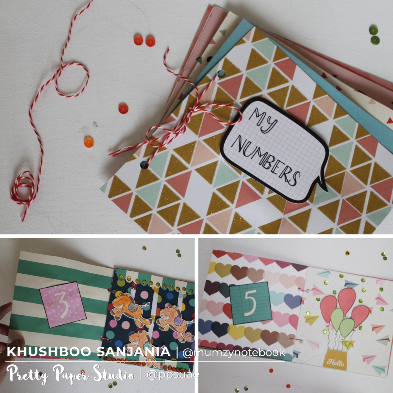 Tutorial: Make a Child's Number Book | Ink and other mediums