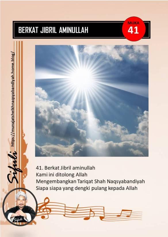 Nama Lain Malaikat : malaikat, BERKAT, JIBRIL, AMINULLAH, Munajat, Sheikh, Naqsyabandiyah