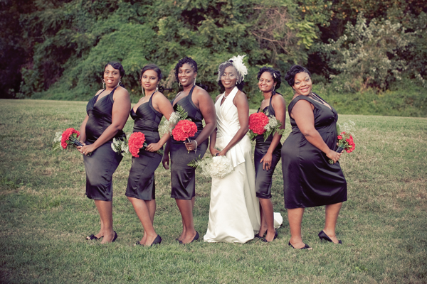Gorgeous DC Wedding With Black,White And Red Color Scheme