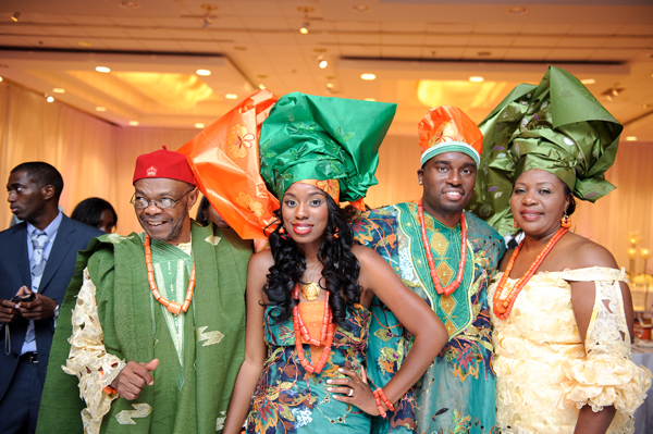 Stylish Nigerian Wedding In Baltimore, Maryland: Wendy