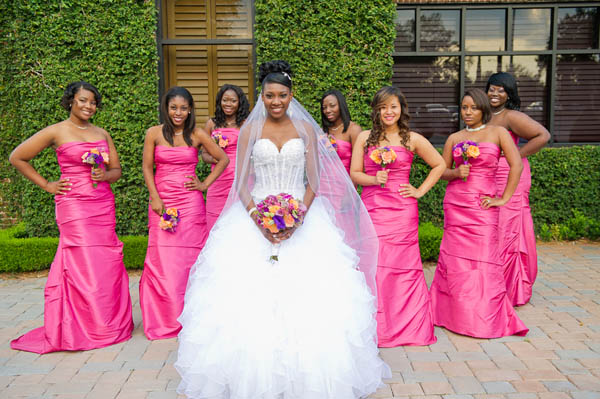 Real Florida Wedding ReNelle  Trevor Munaluchi Bride