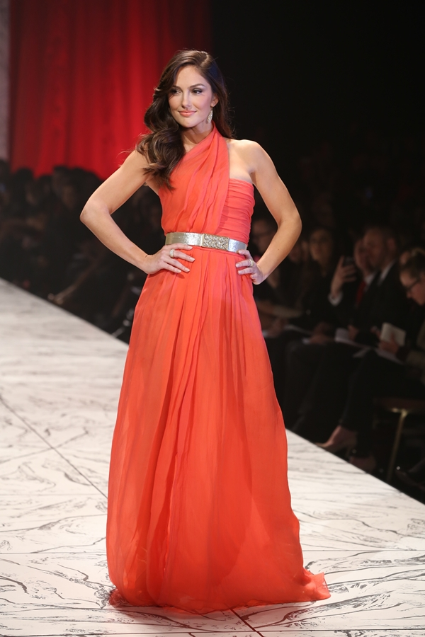 The 11th Annual Hearts Truth Red Fashion Show at NYFW