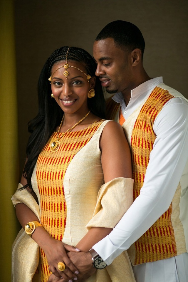 East Africa Meets Trinidad And Tobago In Manhattan Wedding