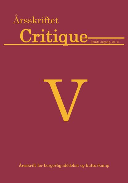 Critique 2012
