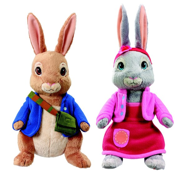 Peter Rabbit and Lily Bobtail Toys
